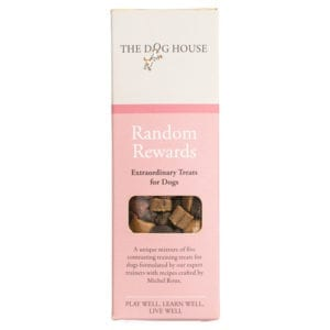 Random Rewards 120g - Michel Roux - Dog Treats - Front View - The Dog House Trading