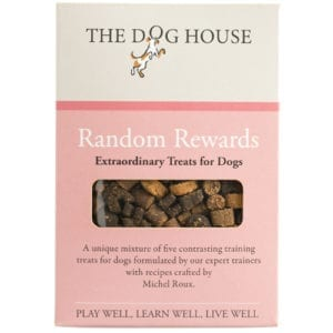 Random Rewards 220g – Dog Treats – Michel Roux – Front View – The Dog House Trading